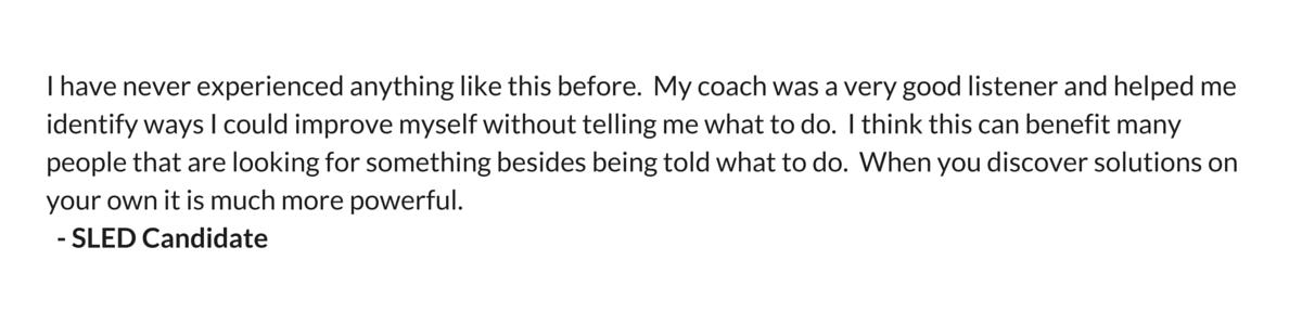 Coaching Testimonial 7